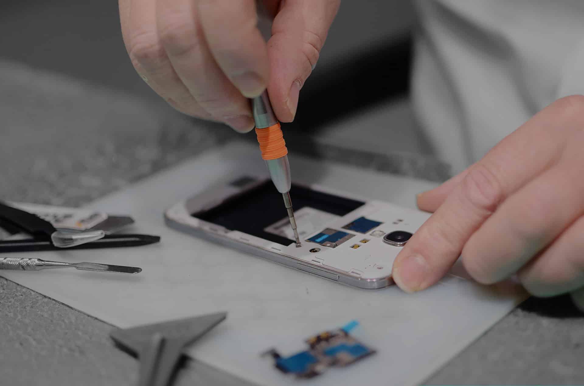réparer un portable Samsung