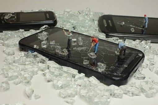 Réparer un écran tactile de portable
